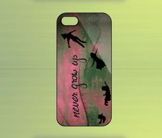 Lets Go to Neverland Case For IPHONE 5,