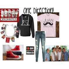 One Direction outfit!! :), created by halgra43 on Polyvore