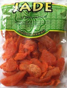 Jade Brand Li Hing Mui Mango Dried Fruit from Hawaii