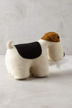 Fox Terrier Bookend - anthropologie.com