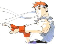 Ryu by Bengus Game Character Design, Character Art, Game Design, Drawing Reference Poses, Art Reference, Street Fighter Hadouken, Art Of Fighting, Fighting Games, Street Fighter Alpha