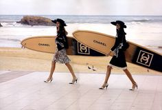 Chanel campagne Spring/Summer 2003