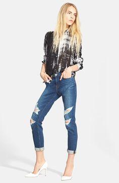 A.L.C. Blouse & Frame Denim Jeans