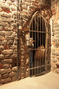 Dungeon Doorway- I would have this lead to my wine cellar