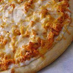 Pizza au poulet Buffalo épicé