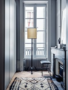 Classic French Apartment  http://dustjacket-attic.com/2016/02/interiors-classic-french-apartment-2.html/