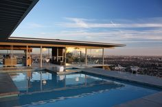 The Stahl House in LA is something else. This house has a 180 degree view of LA from Downtown to the ocean.