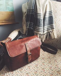 Our Bowery bag in Antique Cognac