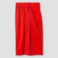 Boys' Activewear Shorts Spark - Cat & Jack Orange Spark M