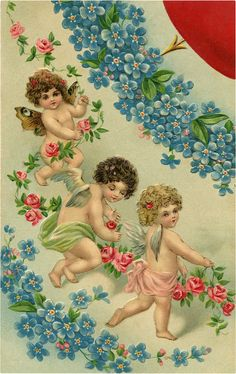 A collection of 8 Vintage Valentine Fairy Images. Valentine's Day isn't just for Cherubs, these cute Fairies are ready to spread some love as well! Valentine Picture, Valentine Day Love, Victorian Valentines, Vintage Valentines, Free Valentine Cards, Cute Fairy, Vintage Fairies, Graphics Fairy, Angel Art