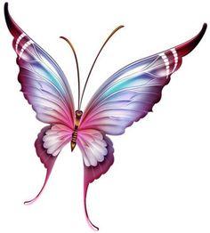 Butterfly Collection Cross Stitch Pattern by TwistedStichesShop on Etsy Butterfly Clip Art, Butterfly Drawing, Butterfly Pictures, Butterfly Fairy, Butterfly Wallpaper, Purple Butterfly, Butterfly Tattoos, Art Papillon, Vintage Roses