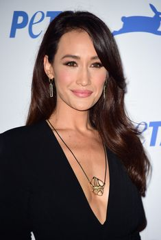 Maggie Q arrives at PETA's 35th Anniversary Party at Hollywood Palladium on September 30, 2015 in Los Angeles, California. (Zimbio)