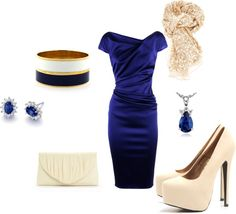 An Evening Out, created by sammiblossom on Polyvore
