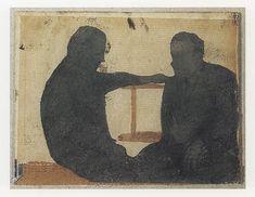 The Conversation 1995 - Luc Tuymans   Tuymans Prints