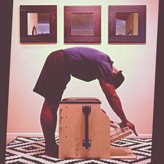 Take Back The Night @PilatesDwell_Canton | Low Chair Exercise: Standing Push Down - Behind Chair #latenightworkout #control #tallstudents • #pilates #pilatesstudio #pilatesinstructor #pilatesformen #contrology #classicalpilates #calisthenics #gymnastics #fitness #yoga #personaltrainer #menshealth #fedora