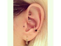 15 photos de piercings à l'oreille