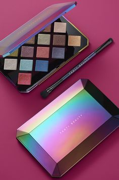Fenty Beauty by Rihanna Galaxy Shadow Palette . Fenty Beauty by Rihanna Galaxy Eyeshadow palette Galaxy Eyeshadow, Galaxy Makeup, Eyeshadow Palette, Morphe Palette, Matte Eyeshadow, Eye Palette, Eyeshadow Brushes, Makeup Brands, Best Makeup Products