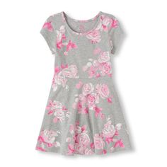 Floral Print Dress | Children's Place size M | Late Summer 2015