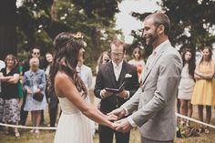 Bohemian Portland Park Wedding
