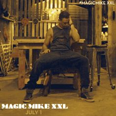 Sometimes you just have to let the magic take control. Magical Mike is back on the grind on July 1st when #MagicMikeXXL hits theaters!