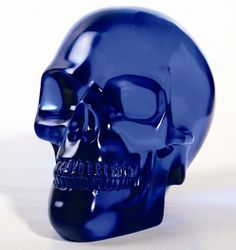 Large Blue Crystal Skull [8260] - $33.99 : Mystic Crypt, the most unique, hard to find items at ghoulishly great prices!