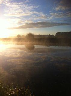 Here comes the sun... #sunrise #Vechtdal #Mooirivier #Overijssel