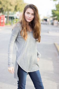 Comfy #freepeople thermals are perfect for layering in the fall!!