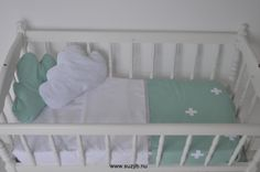 Mintgroen babydeken op www.suzyb.nu
