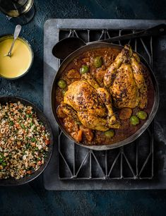 Poussin Recipe with Preserved Lemons and Tabbouleh Check out this poussin recipe with preserved lemons. This easy dish makes a great alternative to any weekend roast recipe. Serve with freshly chopped tabbouleh salad and a smooth saffron yogurt