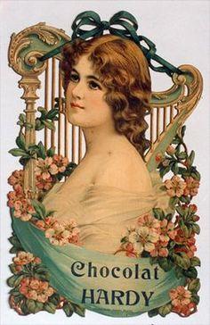 Victorian lady die cut ~ Le Blogue antiquités
