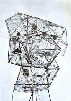 D           'Birdcage' by Andre Bloc.