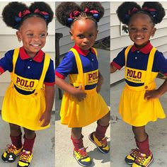 There are so many hairstyles to choose from and there are thousands of gorgeous looks … Black Kids Fashion, Cute Kids Fashion, Little Girl Fashion, Cute Mixed Babies, Cute Black Babies, Cute Babies, Brown Babies, Black Baby Girls, Cute Baby Girl