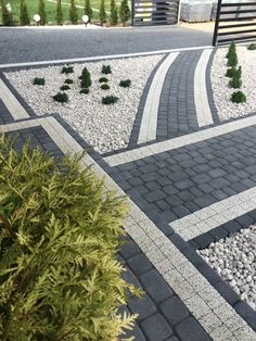 Vinyl Garage Flooring, Landscape Design, Garden Design, Yard Drainage, Outdoor Walkway, Diy Patio, Front Yard Landscaping, Outdoor Projects, Modern House Design