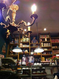 L'Epicerie, Lyon - 2 rue de la Monnaie, Cordeliers - Jacobins - Tartines & brunch, déco vintage