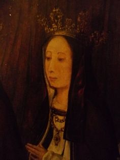 Margaret Tudor When Princess of England, Detail of Tudor Family Painting | by lisby1