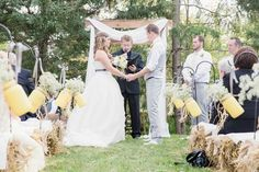 """I Do"" Moment Farm Wedding, Rustic Wedding, Dream Wedding, Got Married, Getting Married, Cold Night, Special People, Grey Yellow, How Beautiful"