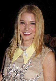 Candace Bushnells elegant, blonde hairstyle