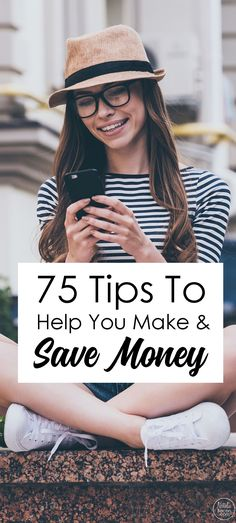 A massive list of 75 personal finance tips that can help you change your financial life by budgeting, getting out of debt, saving, investing, and much more.