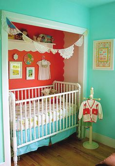 Google Image Result for http://www.myhomerocks.com/wp-content/uploads/2012/09/4a-Red-turquoise-mint-eclectic-nursery-.jpg