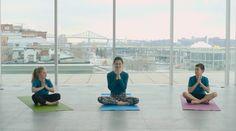 Yoga pour enfants - Défi des Cubes énergie 2016