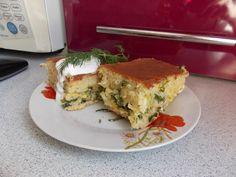 Наливной пирог с капустой - рецепт с фото