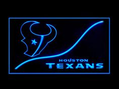 Houston Texans Cool Display Shop Neon Light Sign
