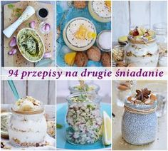 94 przepisy na drugie śniadanie Going Vegetarian, Vegetarian Recipes, Cooking Recipes, Healthy Breakfast Recipes, Healthy Recipes, Healthy Food, Fig Cake, Homemade Pastries, Polish Recipes