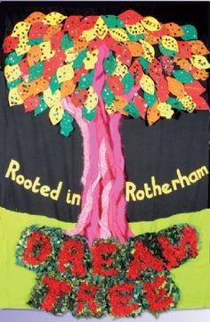 Dream Tree - The project shown here started in school and was then taken into… Home Learning, Learning Resources, Primary Classroom Displays, Activities For Dementia Patients, People For People, Youth Club, Project Ideas, Projects, Craft Ideas