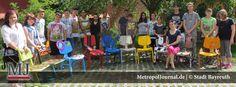 """(BT) Schüler präsentieren """"Crazy Chair - ein phantastischer Stuhl"""" - http://metropoljournal.de/metropol_nachrichten/bayreuth-schueler-praesentieren-crazy-chair-ein-phantastischer-stuhl/"""