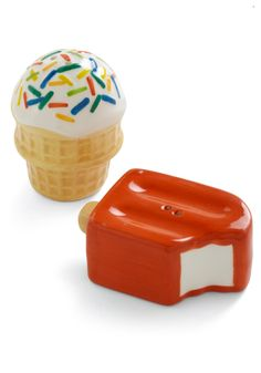 Ice Cream and Popsicle Salt & Pepper Shakers