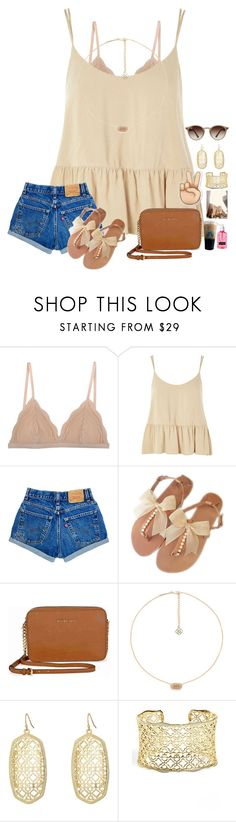 """~i may not be perfect but at least i'm not fake😊~"" by taybug2147 ❤ liked on Polyvore featuring Cosabella, Topshop, Michael Kors, Kendra Scott and Ray-Ban"