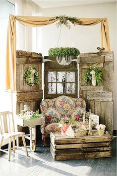 love this wedding corner