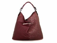 shoulder bag vegan leather handbag purse Maroon - the Heilyn - new collection is made with a special vegan material (faux leather) animal and eco friendly.