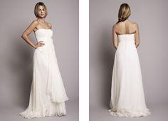 Robe de mariée Rime Arodaky - Lookbook 2012 - Modèle Clara